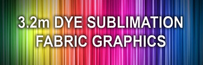 Dye Sublimation Fabric Graphics