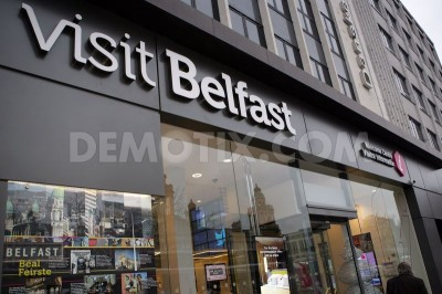 Office Branding at Visit Belfast Welcome Centre